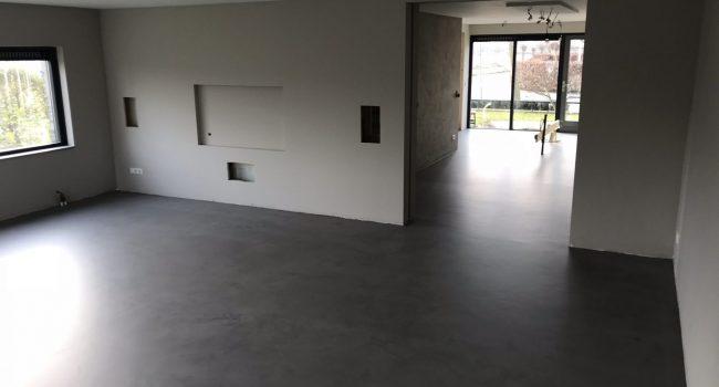 Nieuwbouw betonvloeren SmitFloor