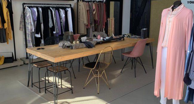 FloorColouring vloer kledingwinkel